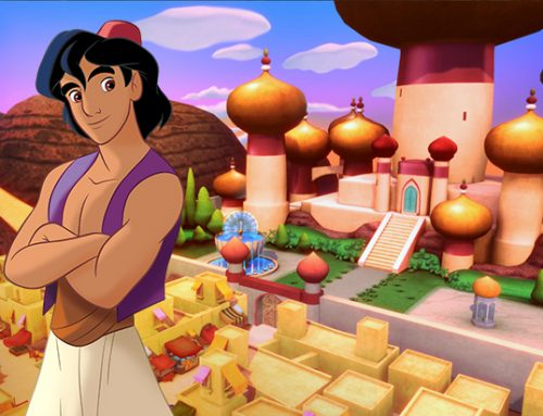 Aladdin: A whole new world!