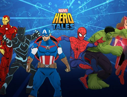 Marvel Hero Tales… Like you've never known it before!