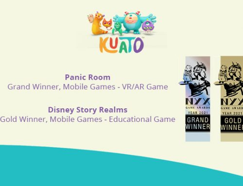 Kuato wins double at NYX Game Awards!